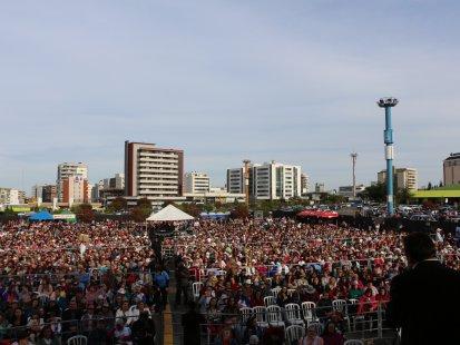 Show no Shopping Iguatemi, em Caxias do Sul (RS)